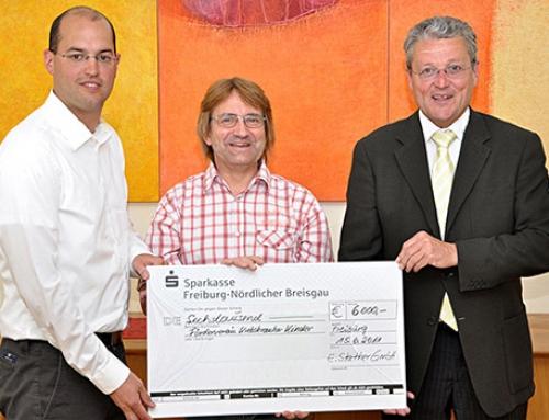 Firma Stather unterstützt Förderverein für krebskranke Kinder